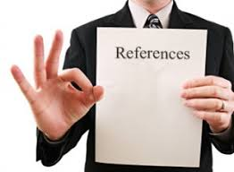 References - and how recruiters handle them...